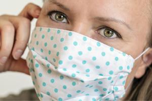 vignette masque tissu